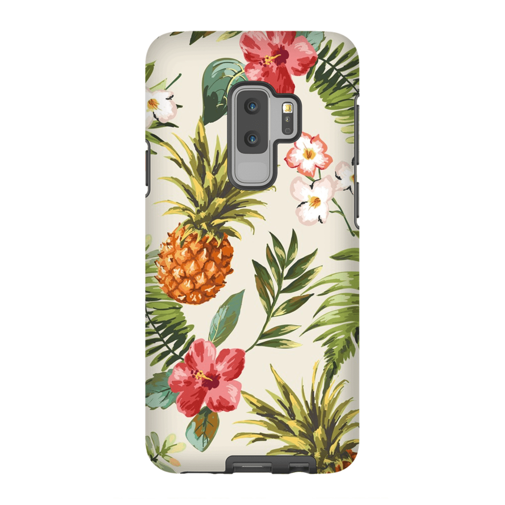 Tropical Pineapple Galaxy S9 and S9 Plus Tough Case - Purdycase