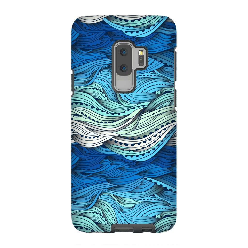 Waves Galaxy S9 and S9 Plus Tough Case - Purdycase