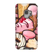 Strawberry Cupcake Galaxy S9 and S9 Plus Tough Case - Purdycase