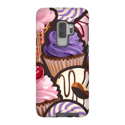 Purple Cupcake Galaxy S9 and S9 Plus Tough Case