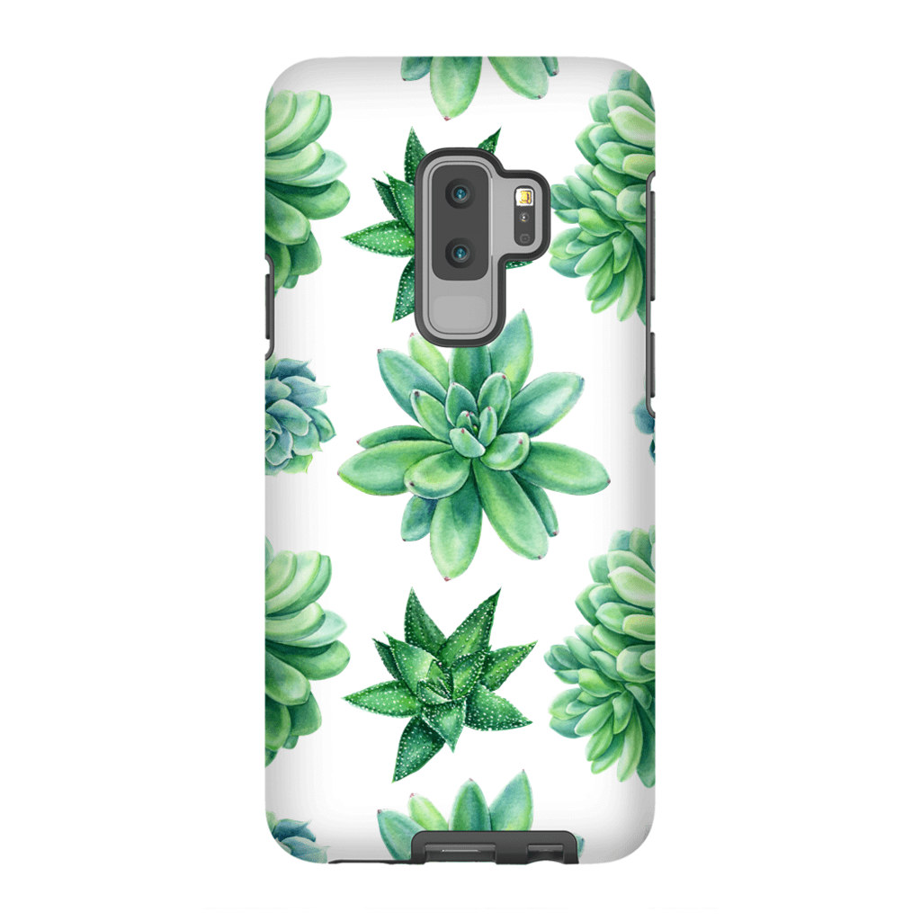 Succulent Galaxy S9 and S9 Plus Tough Case - Purdycase