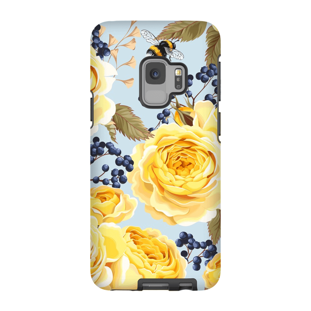 Yellow Rose Galaxy S9 and S9 Plus Tough Case - Purdycase