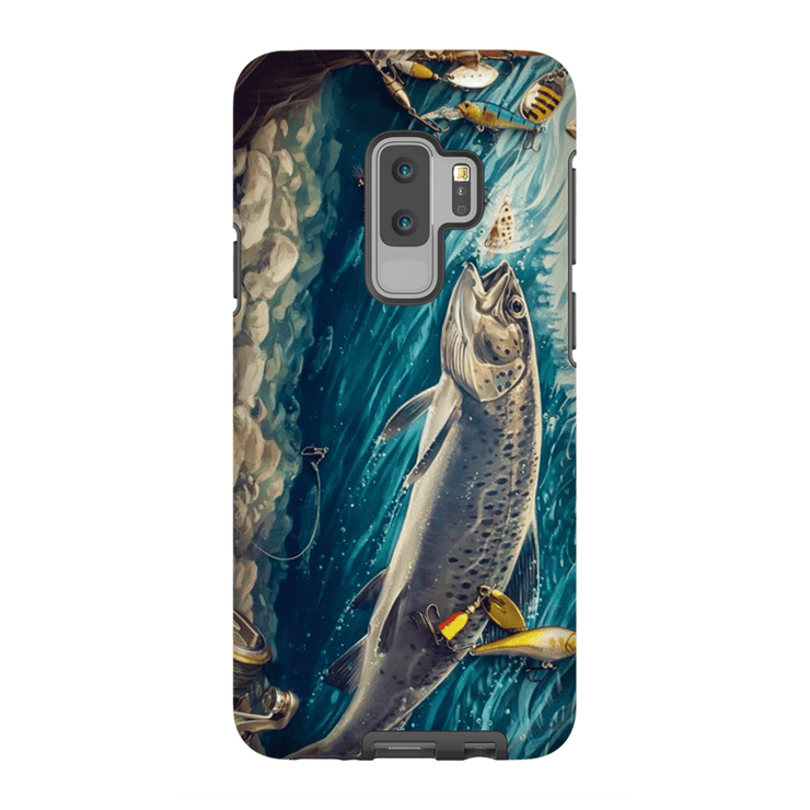 Trout Fish Galaxy S9 and S9 Plus Tough Case - Purdycase