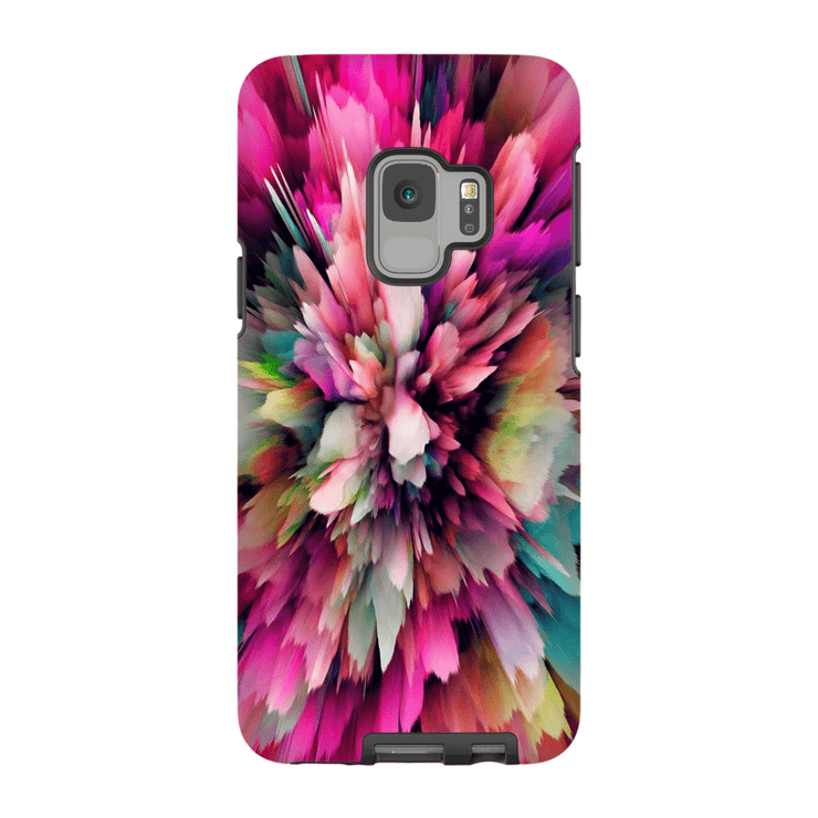 Pink Explosion Abstract Galaxy S9 and S9 Plus Tough Case - Purdycase