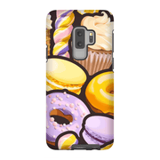 Purple Donut Galaxy S9 and S9 Plus Tough Case