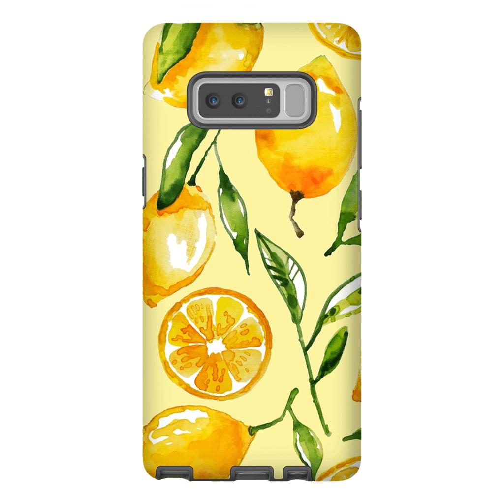 Lemon Slice Galaxy Note 8 and 9 Tough Case - Purdycase