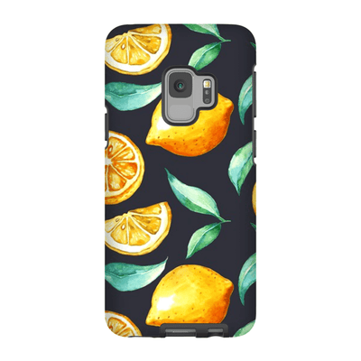 Dark Lemon Galaxy S9 and S9 Plus Tough Case
