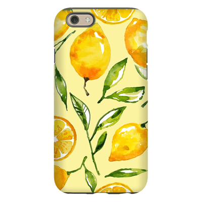Yellow Lemon iPhone 6/6s and 6 Plus Tough Case