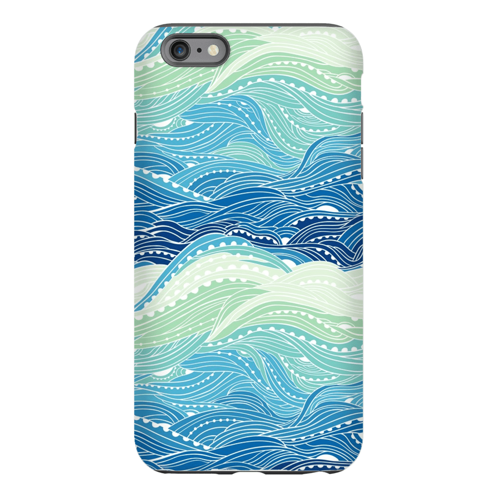 Waves iPhone 6/6s and 6 Plus Tough Case - Purdycase