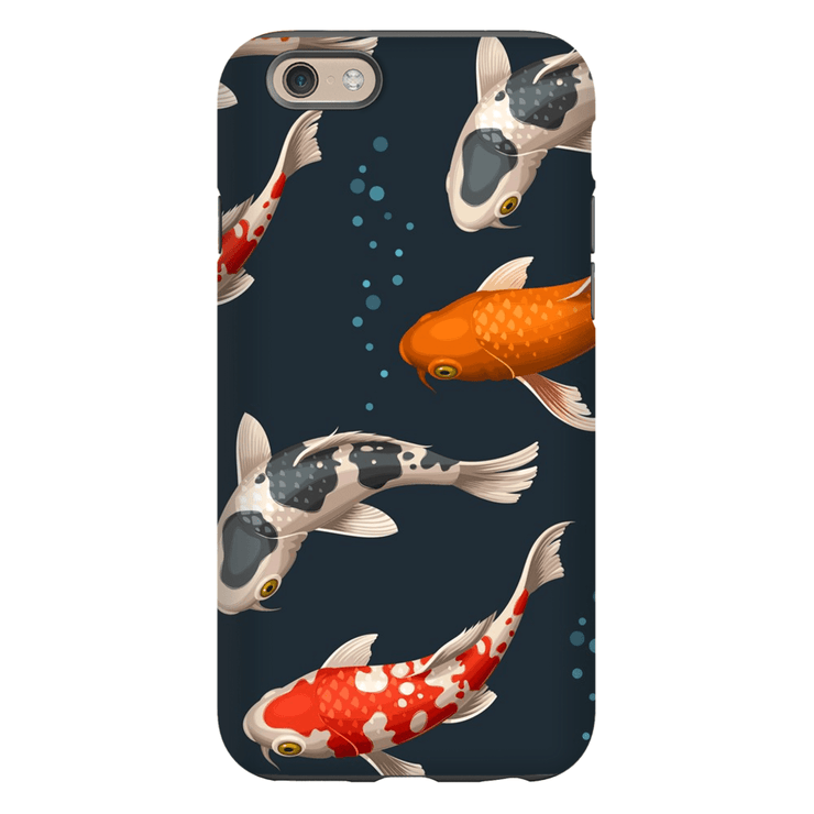 Japanese Koi Bubbles iPhone 6/6s and 6 Plus Tough Case - Purdycase