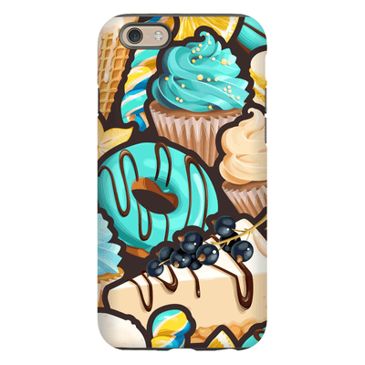 Turquoise Dessert iPhone 6/6s and 6 Plus Tough Case