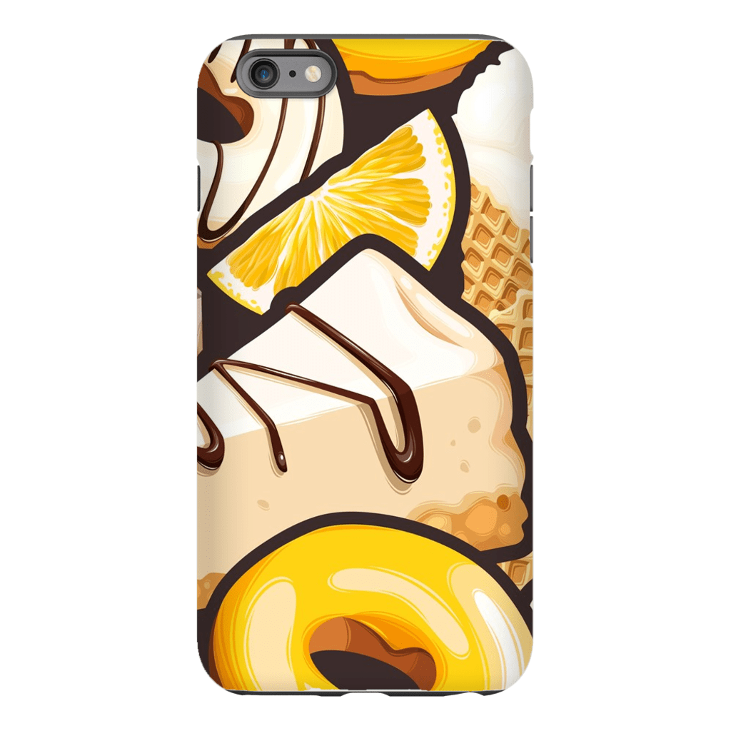 Yellow Dessert iPhone 6/6s and 6 Plus Tough Case - Purdycase