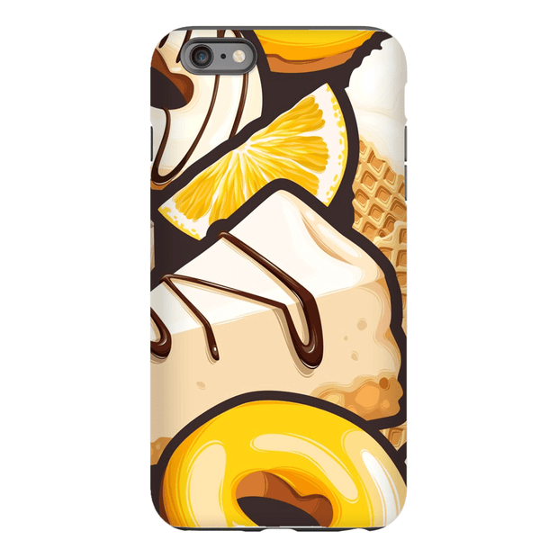 Yellow Dessert iPhone 6/6s and 6 Plus Tough Case
