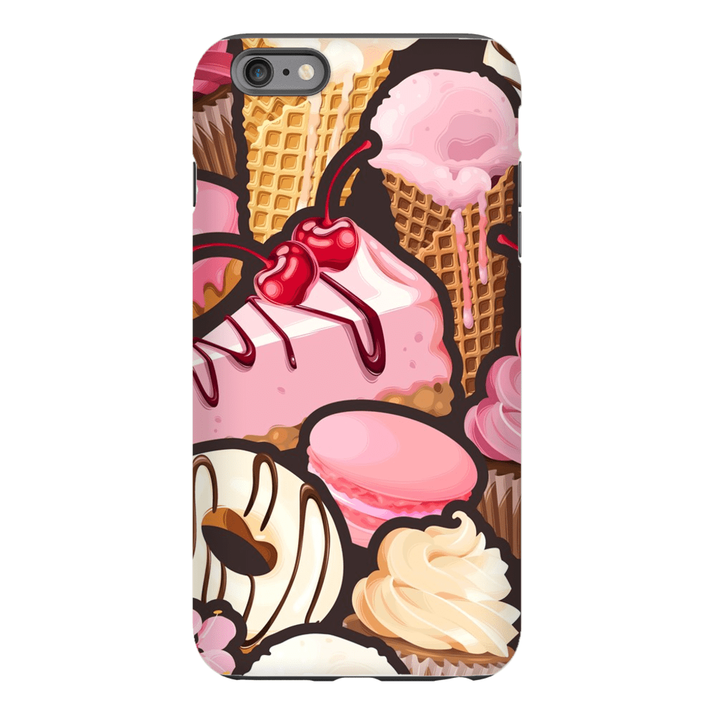 Strawberry Dessert iPhone 6/6s and 6 Plus Tough Case - Purdycase