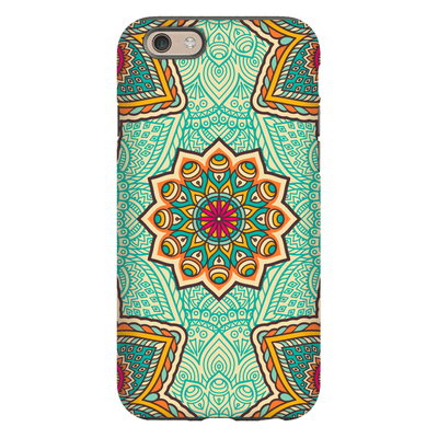 Green Mandala iPhone 6/6s and 6 Plus Tough Case - Purdycase