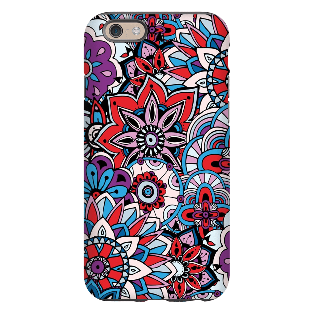 Purple Star Mandala iPhone 6/6s and 6 Plus Tough Case - Purdycase