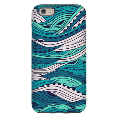 Crazy Waves iPhone 6/6s and 6 Plus Tough Case - Purdycase