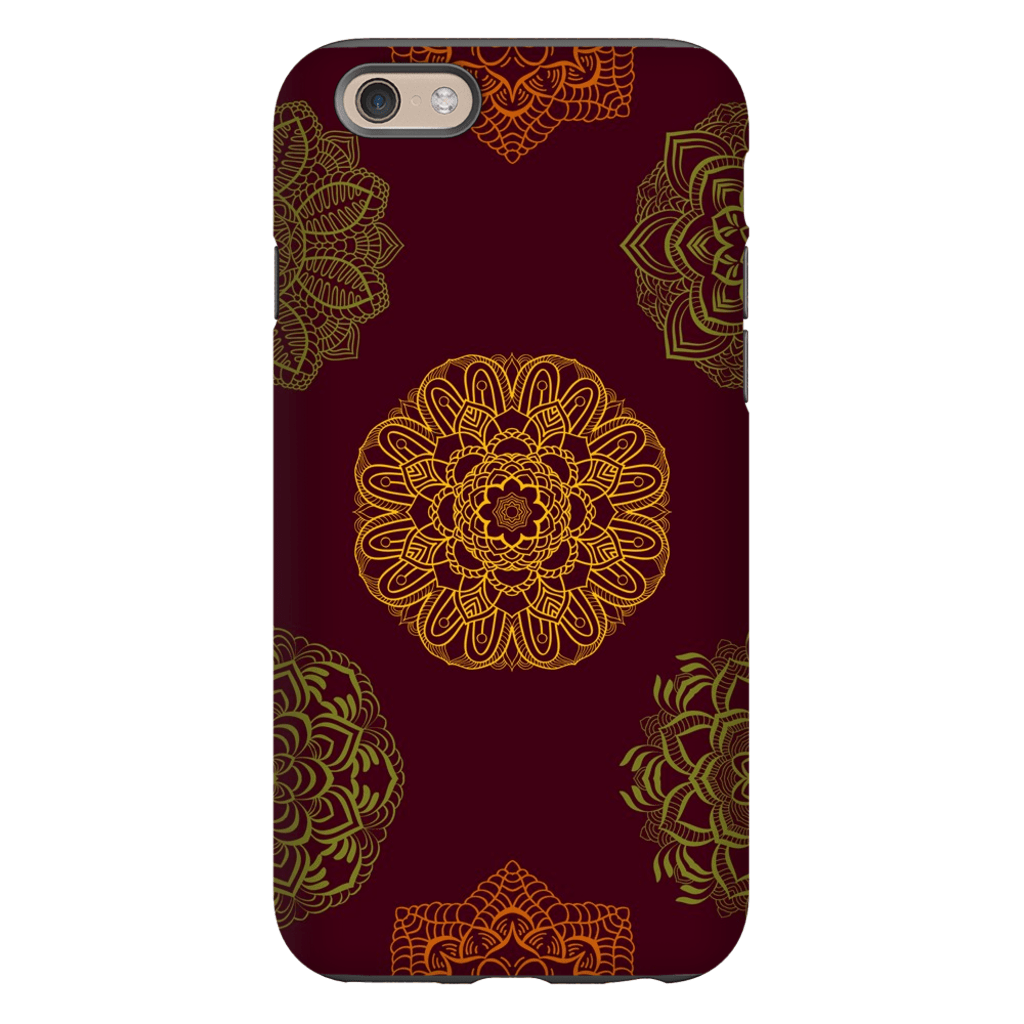 Dark Mandala iPhone 6/6s and 6 Plus Tough Case - Purdycase