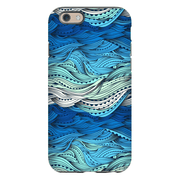 Ocean Blue Waves iPhone 6/6s and 6 Plus Tough Case - Purdycase