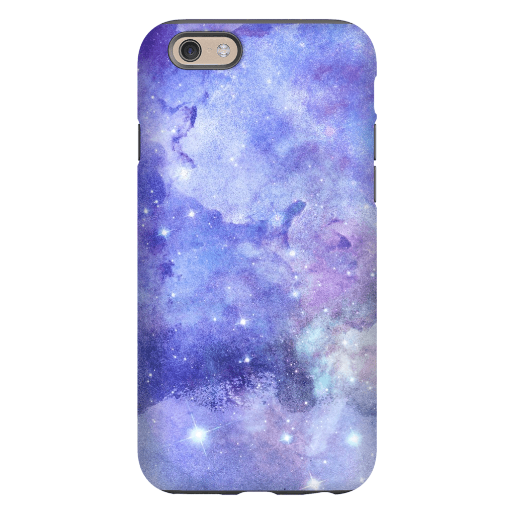 Purple Space iPhone 6/6s and 6 Plus Tough Case - Purdycase
