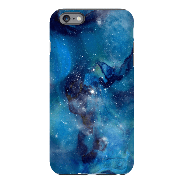 Blue Galaxy iPhone 6/6s and 6 Plus Tough Case - Purdycase