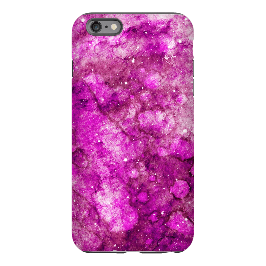Pink Galaxy iPhone 6/6s and 6 Plus Tough Case - Purdycase