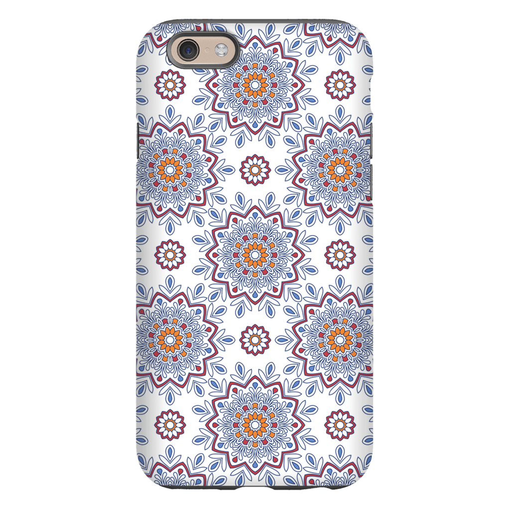 Ethnic Mandala iPhone 6/6s and 6 Plus Tough Case - Purdycase