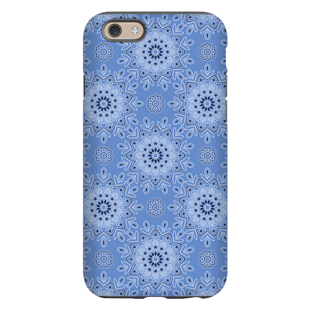 Blue Mandala iPhone 6/6s and 6 Plus Tough Case - Purdycase