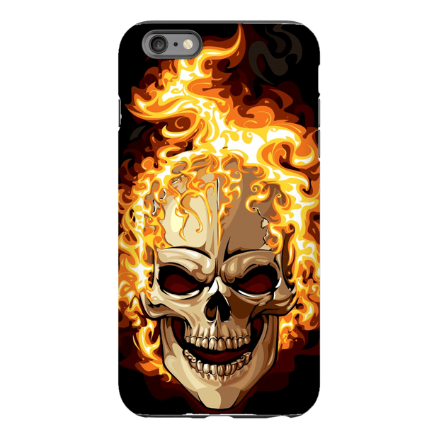 Skull Fire iPhone 6/6s and 6 Plus Tough Case