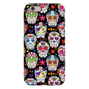 Black Skulls iPhone 6/6s and 6 Plus Tough Case
