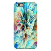 Yellow Abstract iPhone 6/6s and 6 Plus Tough Case