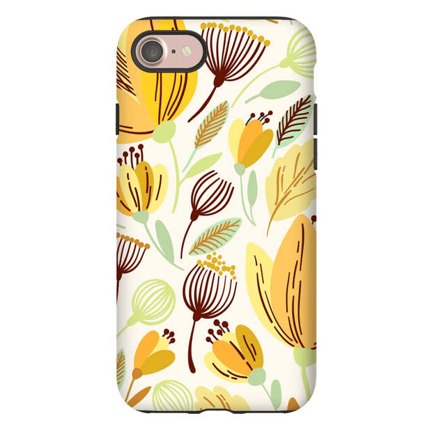 Yellow Spring Leaves iPhone 7 and 7 Plus Tough Case