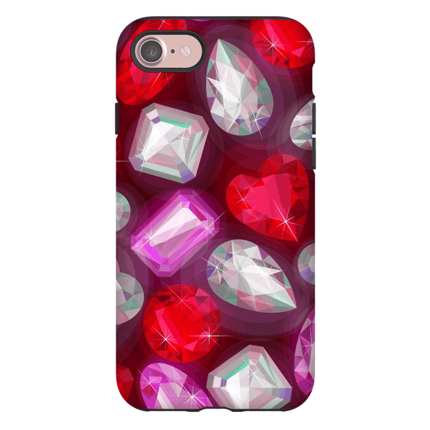 Diamond and Rubies iPhone 7 and 7 Plus Tough Case