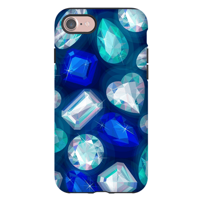 Sapphire Gems iPhone 7 and 7 Plus Tough Case
