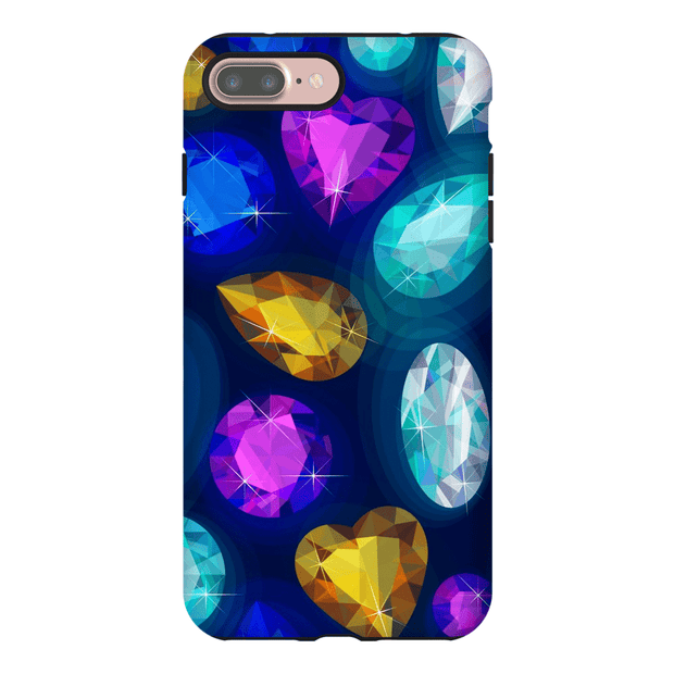 Rainbow Gems iPhone 7 and 7 Plus Tough Case