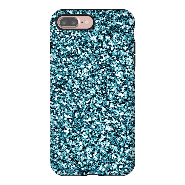 Turquoise Foil iPhone 7 and 7 Plus Tough Case