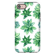 Succulent Pattern iPhone 7 and 7 Plus Tough Case