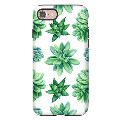 Succulent Pattern iPhone 7 and 7 Plus Tough Case - Purdycase