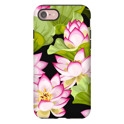 Pink Garden Pattern iPhone 7 and 7 Plus Tough Case - Purdycase