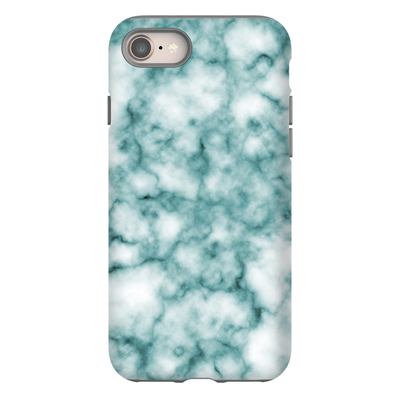 Turquoise Marble iPhone 8 and 8 Plus Tough Case - Purdycase