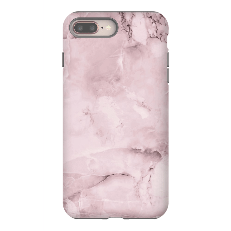Light Pink Marble iPhone 8 and 8 Plus Tough Case - Purdycase