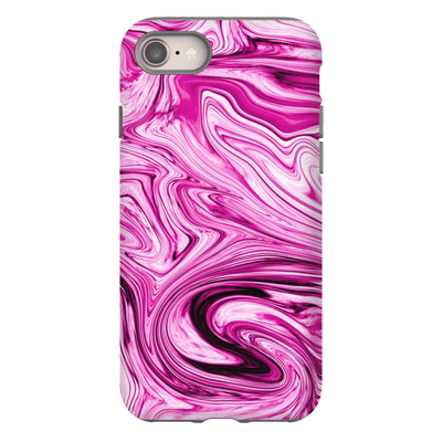 Cotton Candy Marble iPhone 8 and 8 Plus Tough Case - Purdycase