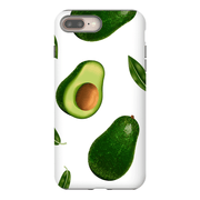 White Avocado iPhone 8 and 8 Plus Tough Case