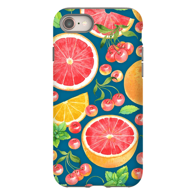 Grapefruit Pattern iPhone 8 and 8 Plus Tough Case