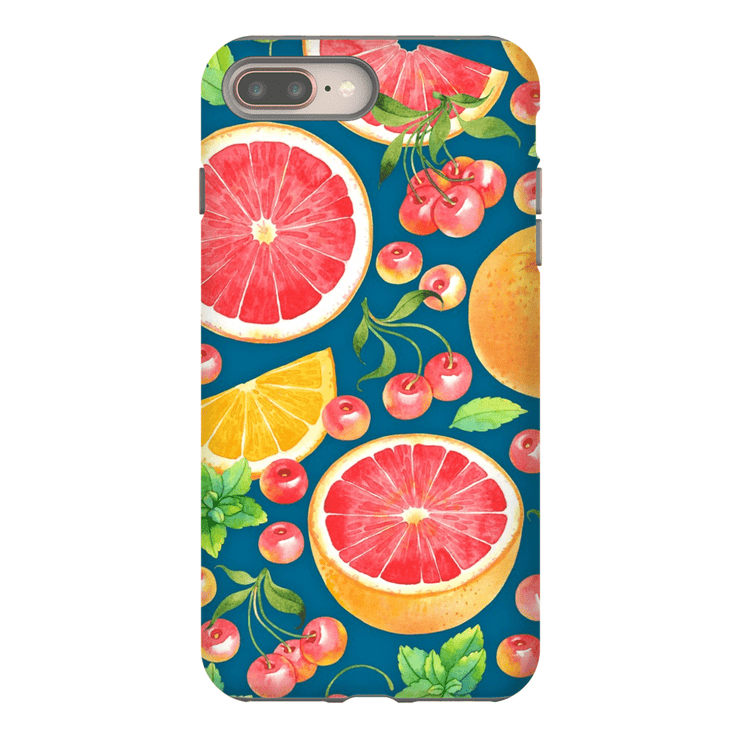 Grapefruit Pattern iPhone 8 and 8 Plus Tough Case - Purdycase