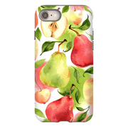 Pear Apple Pattern iPhone 8 and 8 Plus Tough Case