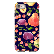 Grape Pattern iPhone 8 and 8 Plus Tough Case