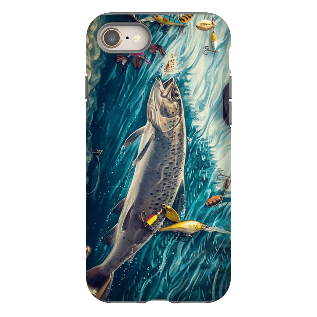 Trout iPhone 8 and 8 Plus Tough Case - Purdycase