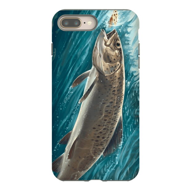 Trout Fish iPhone 8 and 8 Plus Tough Case