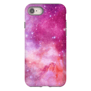 Pink Galaxy iPhone 8 and 8 Plus Tough Case